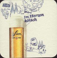 Beer coaster sion-22-zadek