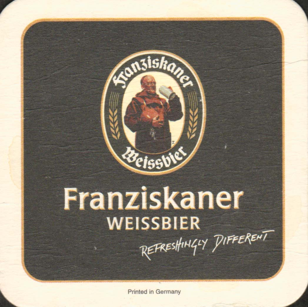 Original German Beer Coasters Franziskaner