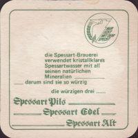 Pivní tácek spessart-27-zadek-small
