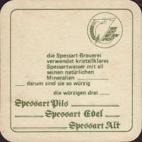 Beer coaster spessart-9-zadek