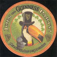 Pivní tácek st-jamess-gate-91-zadek
