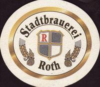 Beer coaster stadtbrauerei-roth-2-small