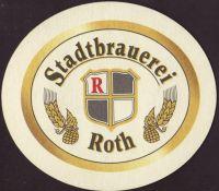 Beer coaster stadtbrauerei-roth-3-small
