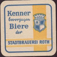 Beer coaster stadtbrauerei-roth-5-small
