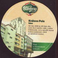 Pivní tácek starobrno-87