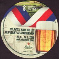 Beer coaster starobrno-98