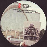 Beer coaster starobrno-98-zadek