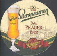 Pivní tácek staropramen-63-oboje