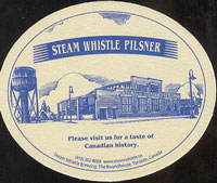 Beer coaster steam-whistle-2-zadek