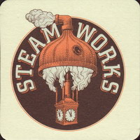 Beer coaster steamworks-3-small
