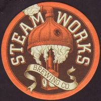 Beer coaster steamworks-5-small