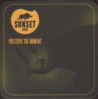 Beer coaster sunset-brew-2-small
