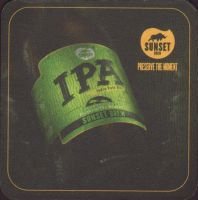 Beer coaster sunset-brew-2-zadek-small