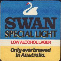 Beer coaster swan-23-small