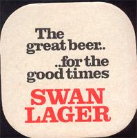 Beer coaster swan-3-zadek