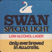 Beer coaster swan-34-small