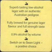 Beer coaster swan-4-zadek