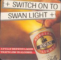 Beer coaster swan-4