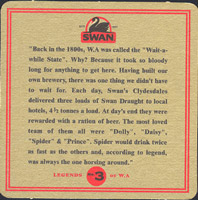 Beer coaster swan-7-zadek