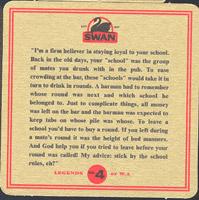 Beer coaster swan-8-zadek