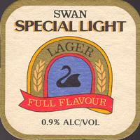 Beer coaster swan-9