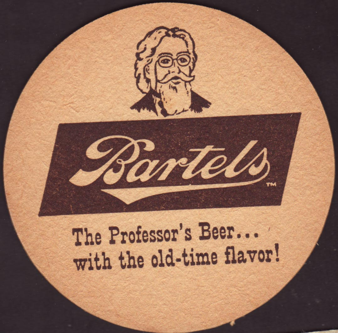 Beer coaster - Coaster number 1-1 | Brewery The Bartels