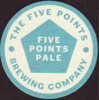 Pivní tácek the-five-points-1-small