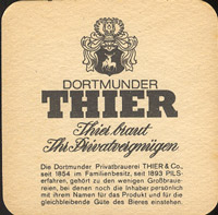 Pivní tácek thier-bier-2-zadek