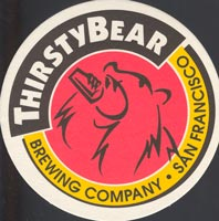 Beer coaster thirsty-bear-1
