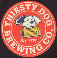 Beer coaster thirsty-dog-brewing-co-2-small