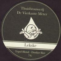 Pivní tácek thuisbrouwerij-de-kubieke-meter-1