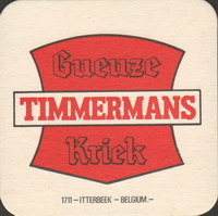 Beer coaster timmermans-15-small