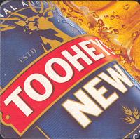 Beer coaster tooheys-12