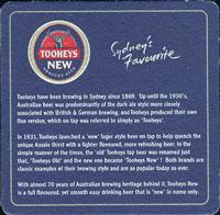 Pivní tácek tooheys-5-zadek