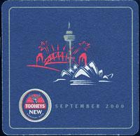 Beer coaster tooheys-5