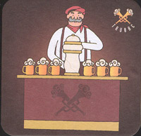 Pivní tácek trubac-3-zadek