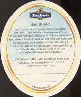 Beer coaster tucher-brau-10-zadek