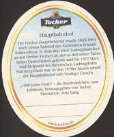Beer coaster tucher-brau-12-zadek