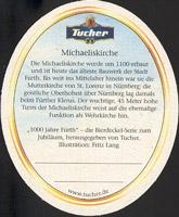 Beer coaster tucher-brau-13-zadek