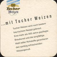Beer coaster tucher-brau-15-zadek