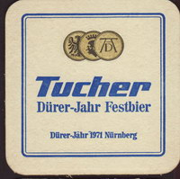 Beer coaster tucher-brau-38-small