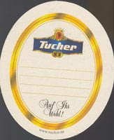 Beer coaster tucher-brau-4-zadek