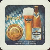 Beer coaster tucher-brau-41-zadek-small