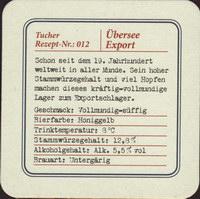 Beer coaster tucher-brau-42-zadek-small