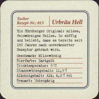 Beer coaster tucher-brau-43-zadek-small