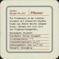 Beer coaster tucher-brau-45-zadek-small