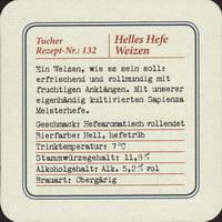 Beer coaster tucher-brau-46-zadek-small