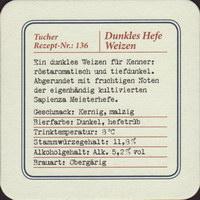 Beer coaster tucher-brau-47-zadek-small