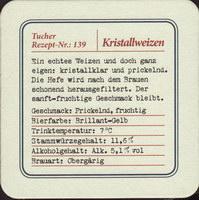 Beer coaster tucher-brau-48-zadek-small