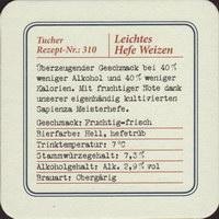 Beer coaster tucher-brau-49-zadek-small